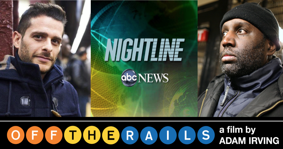 ABC Nightline's story on Darius McCollum and OFF THE RAILS.